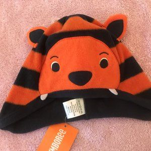 NWT gymboree arctic explorer tiger hat 2t 3t 3 cat